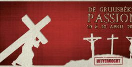 Fanfare Jubilate Deo presenteert De Gruusbekse Passion.  UITVERKOCHT !!!!